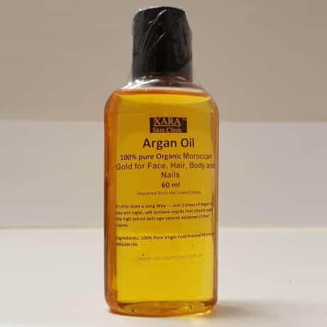 Hand Pressed Organic Moroccan Argan Oil 100% Pure 60ml