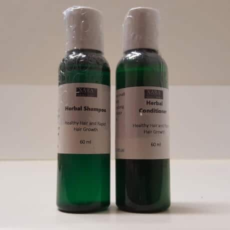 Organic Herbal Rapid Hair Growth Shampoo and Conditioner