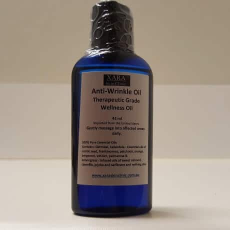 organic anti-wrinkle oil relief from wrinkles 43ml