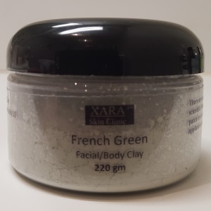 French green facial mask clay Sydney body #1 best dry power