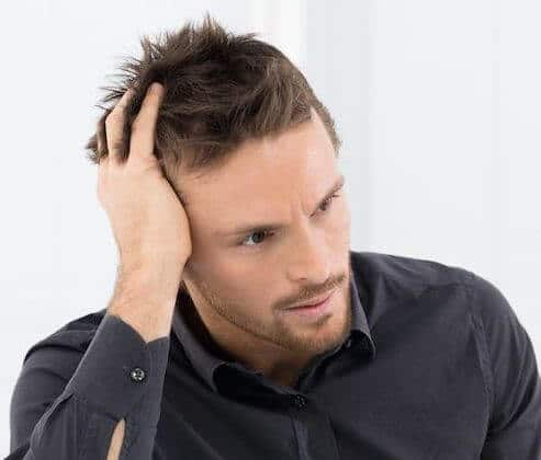 Mens hair loss regrow more hair Sydney how where to