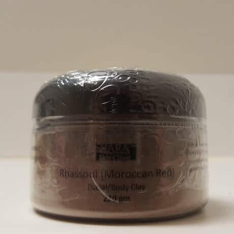 Moroccan Red Facial Masks Rhassoul Facial Body Clay 220gm