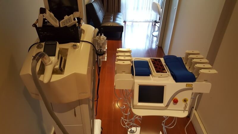 Non-invasive lipo laser liposuction fat removal Sydney