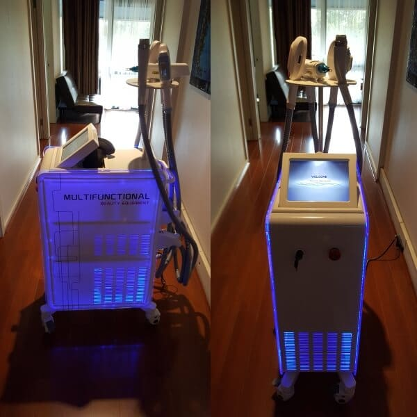 New 4in1 E-light SHR laser hair removal RF ultrasound Sydney
