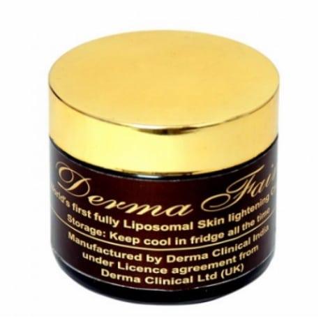 DermaFair liposomal skin lightening whitening rejuvenation cream