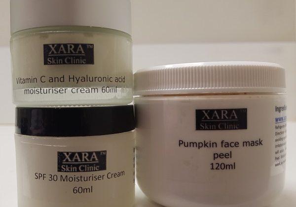 SPF moisturiser pumpkin mask facial peel Sydney new products