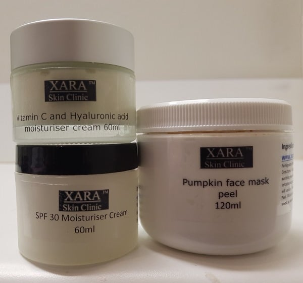 SPF moisturiser pumpkin mask facial peel Sydney new products