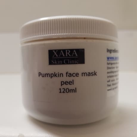 Pumpkin enzyme 15% glycolic acid face mask peel with brush