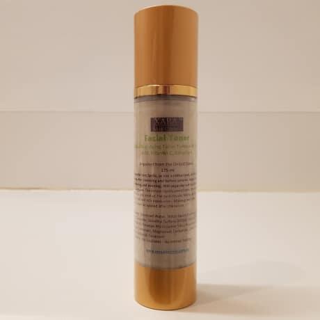 Anti aging facial toner Sydney geranium vitamin c glycolic acid