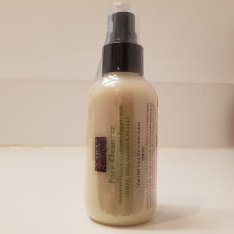 Face cleanser botanical moisturiser cream organic